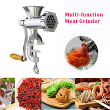 Manual Meat Grinder Sausage Noodle Dishes Hand Operated Making Gadgets Beef Mincer Pasta Maker Crank Home Kitchen Cooking Tools