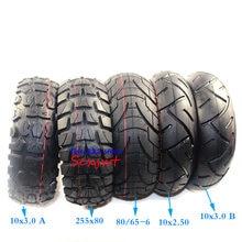 Neumático de carretera todoterreno de 10 pulgadas, neumático inflable de tubo interno para patinete eléctrico Speedual Grace 10 Zero 10X 10x3,0 255x80 10x2.5