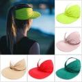 2021 Новая женская летняя обувь шляпа от солнца модный конский хвостик пляжные кепки для женщин, Уличная обувь, солнцезащитный козырек шляпу