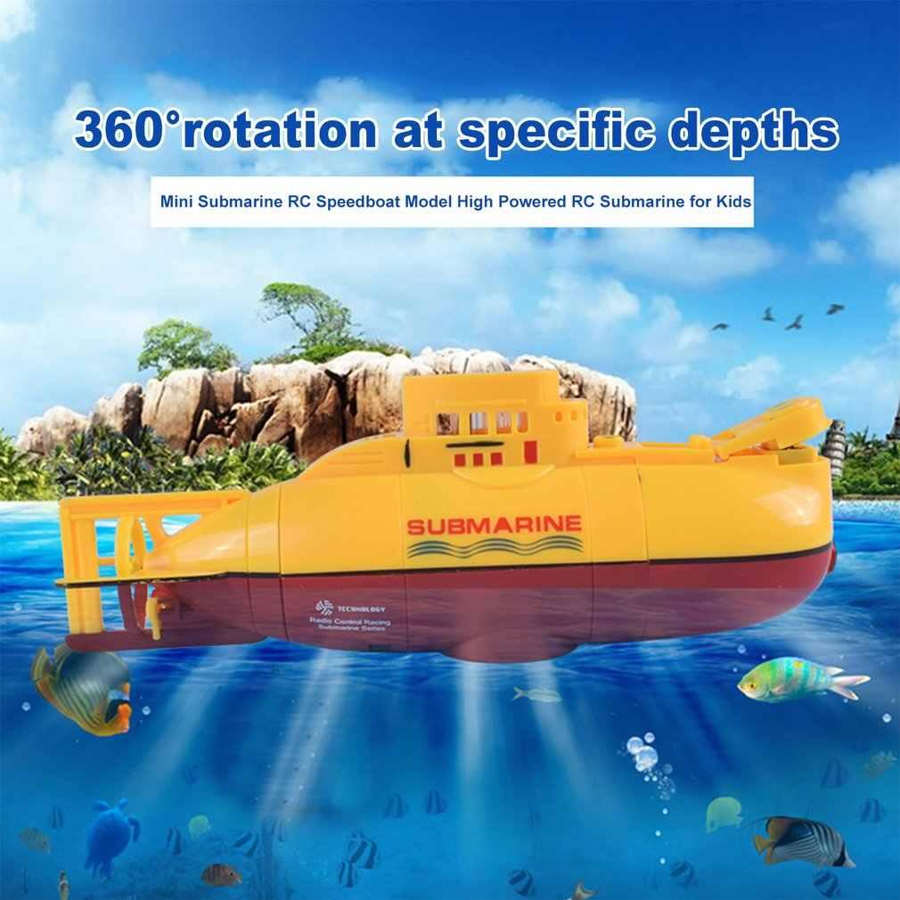 Mini Submarine RC Klaar om Run Speedboot Model Hoge Aangedreven 3.7V Grote Model RC Submarine Outdoor Speelgoed met de afstandsbediening