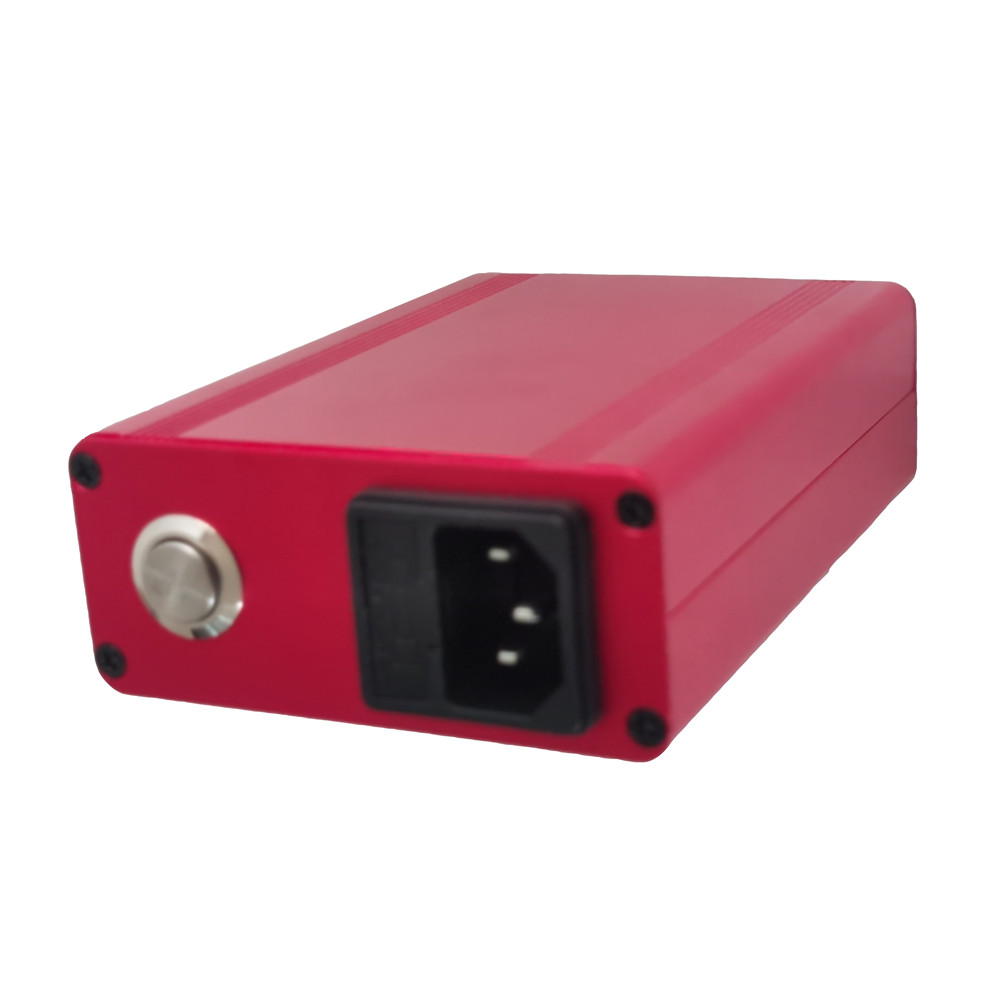 Best Christmas Gift Red Enail Dab Kit Electric Dab Nail Pen Rig Wax PID TC Box with 6 in 1 Hybrid Ti&Quartz Nail for Glass Bongs 6