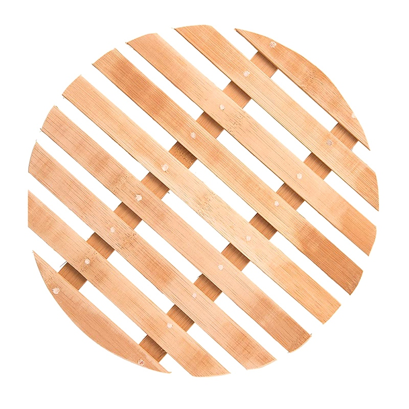 Bamboo Steamer Cooker Household Water Rack Round Steamer Steamed Pot Mat Household Steamer Rack Steamer Rack (11In)|  - title=