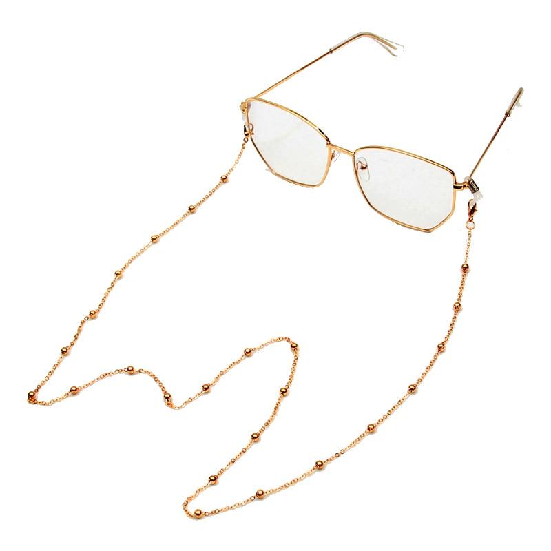 Fashion Pearl Mask Chains Eyeglasses Chain For Women Retro Metal Sunglasses Lanyards Eyewear Cord Holder Neck Strap Dropshipping 3