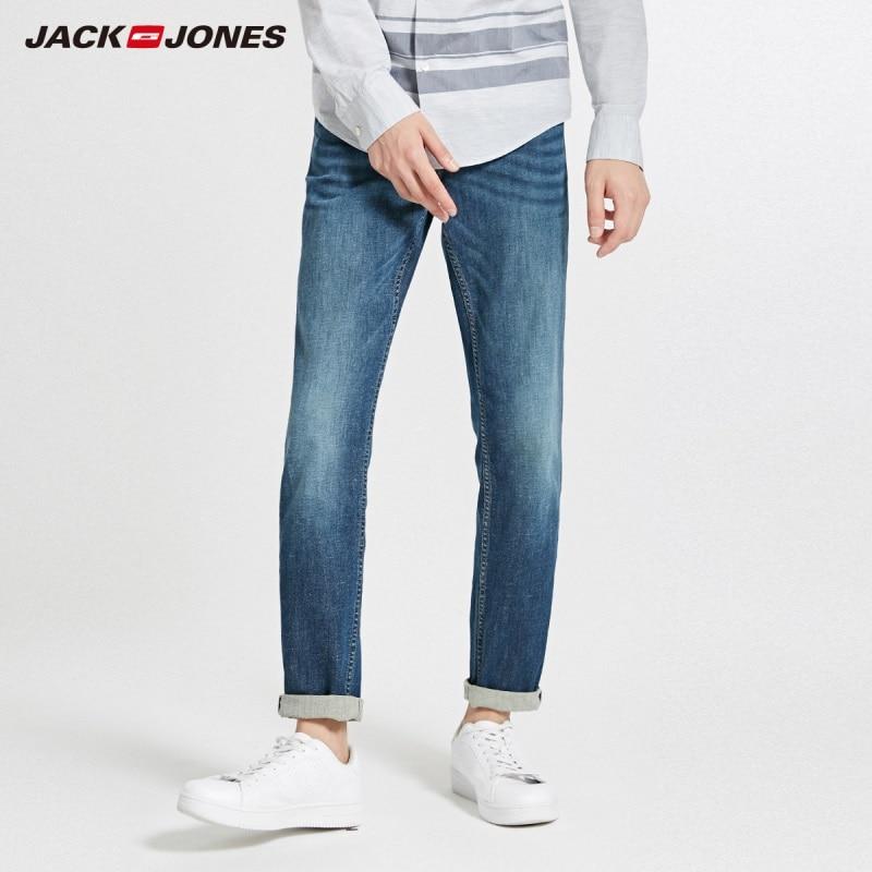 JackJones Autumn Men's Comfortable Cotton And Linen Casual Jeans 218332599