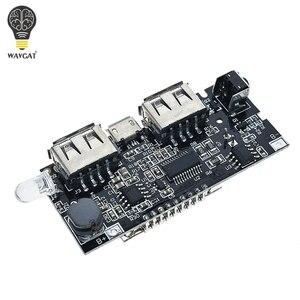 Image 4 - 2 Cổng USB 5V 1A 2.1A Điện Di Động Ngân Hàng 18650 Pin Sạc PCB Mô Đun Nguồn Phụ Kiện Cho Điện Thoại Tự Làm Mới LED Module LCD Ban