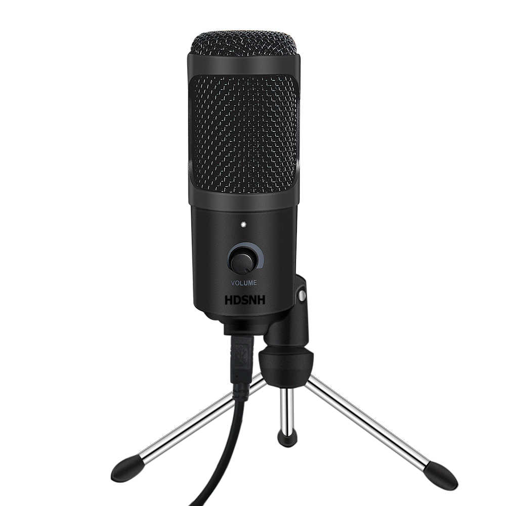 Usb Microfoon Condensator Opname Microfoon Met Standaard Voor Mac Laptop Pc Karaoke Streaming Twitch Voice Podcasting Voor Youtube