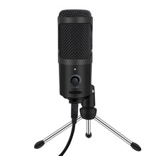 Usb Microfoon Condensator Opname Microfoon Met Standaard Voor Mac Laptop Pc Karaoke Streaming Twitch Voice Podcasting Voor Youtube(China)