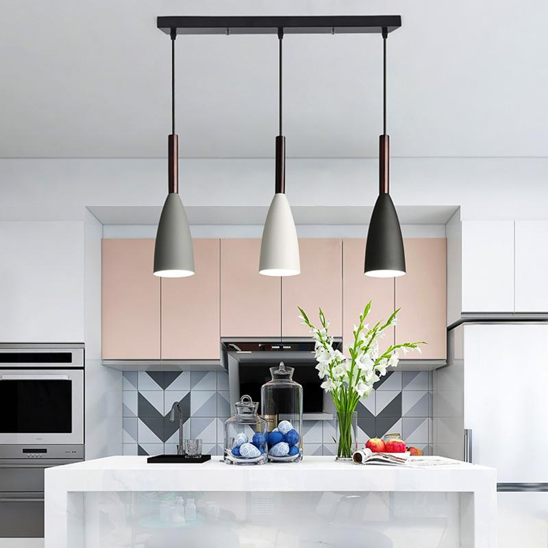 2020Modern <font><b>3</b></font> <font><b>Pendant</b></font> Lighting Nordic Minimalist <font><b>Pendant</b></font> <font><b>Lights</b></font> Over Dining Table kitchen island hanging lamps Lustre <font><b>lights</b></font> E27 image