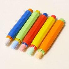 5pcs Health Non-toxic Chalk Holder Chalk Clip Colourful Chalk Holders Clean Teaching Hold for Teacher Children Kawaii Stationery