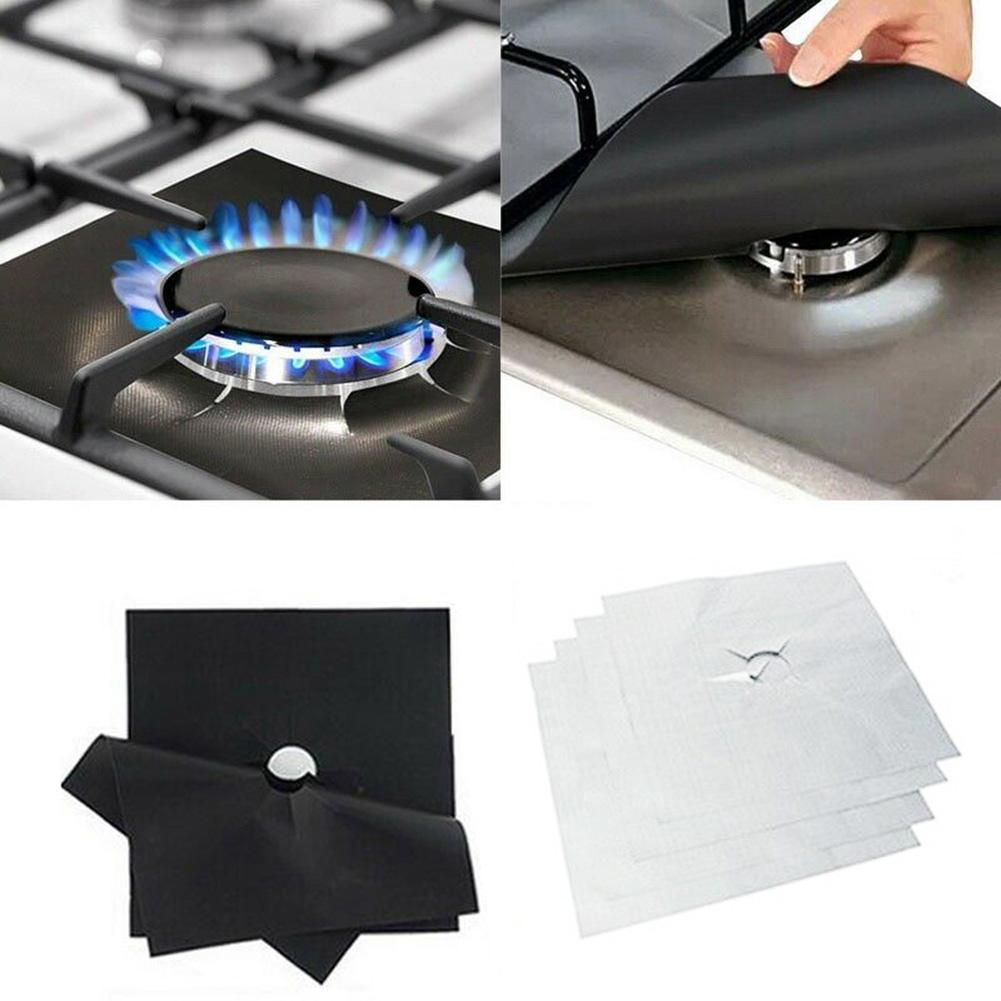 1 4 6pcs Reusable Gas Stove Top Cover