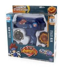 Yeni beyblades seti 2 adet Beyblades patlama Metal Fusion oyuncaklar Launcher ile kolu satış seti beyblade bıçağı çocuk oyuncağı hediye
