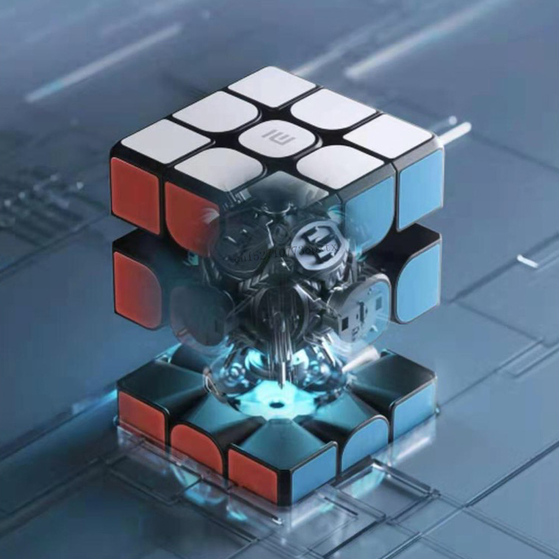 Image 4 - Xiaomi Smart Bluetooth Magic Cube Gateway Linkage 3x3x3 Mi Square Magnetic Cube Puzzle Science Teaching Education Toy GiftSmart Remote Control   -