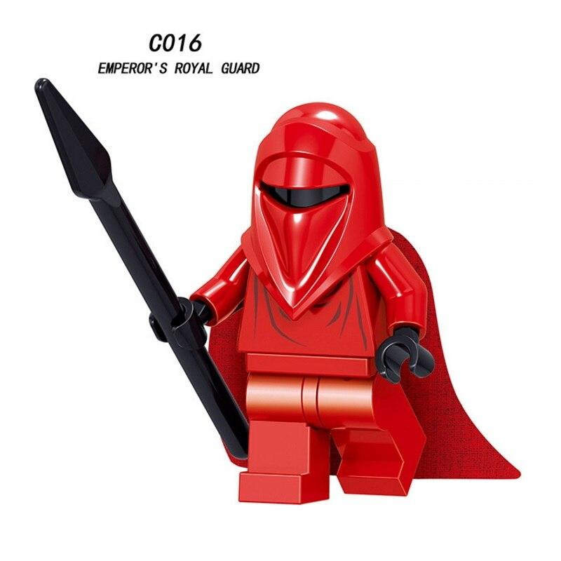 Mini Emperors Royal Guard Star War Imperial Hovertank Pilot Rebel Trooper Building Blocks Figure Bricks Toys Kids Gift Legoingly