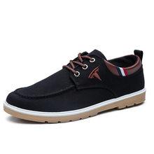 Canvas shoes men's leisure trend low top leisure shoes Ruian cloth shoes wear resistant ox tendon soles