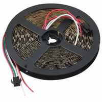 WS2812B 5 м 5050 SMD цифровой 300 светодиодный светильник, адресуемый цветной DC5V для Рождественского украшения