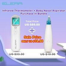 ELERA – thermomètre numérique à infrarouge pour bébé, pour front et oreilles, sans Contact, aspirateur Nasal pour enfant, nettoyeur de nez