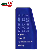 Top quality JMD Super King chip copy type transponder chip Super blue king chip with super function with all the chip