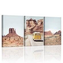 Аризона пустыня украшение холст Картина Пейзаж стены искусства