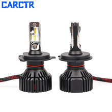цена на CARCTR Car Headlight Bulbs H4 Led H7 Lamps H11 H3 9006 21W 3000LM 6000K 12V 24V Auto Headlamp Car Lights Car Light Accessory