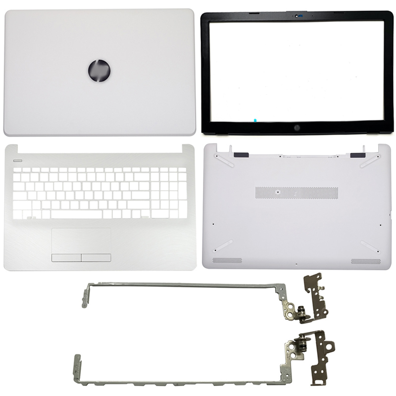 Nuevo para HP 15-BS 15T-BS 15-BW 15Z-BW 250 G6 255 G6 Laptop LCD contraportada/bisel frontal/bisagras LCD/palmest/carcasa inferior 924900-001