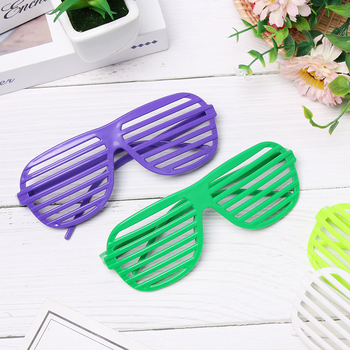Colorful Shutter Glasses With Foldable Frames For Birthday And Party Night