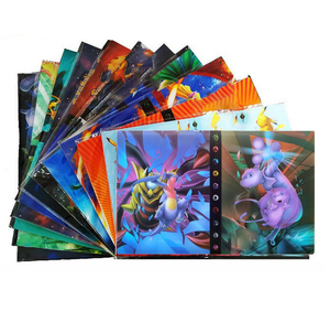 240PCS Game Pokemones Album Book Collections EX GX Mega Trading Card Binder Holder Pikachu Cards Books Toys For Kids