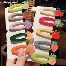 1 PCS  Hairband Sweet Hairgrip Barrettes Hairpin Headdress New Color Cute Girl Many Of Fruit Hair Clip Beauty Accessories