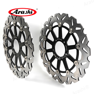 Image 2 - Arashi 1 Pair Motorycle For DUCATI MONSTER 796 800 / ABS 2011 2012 2013 2014 CNC Floating Front Brake Disc Brake Rotors Disks