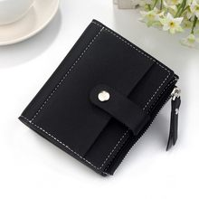 2020 Small Wallet Women Luxury Designer Pink Short Purse ladies wallet girls Cute clutch bags Mini Card Holder portamonete donna(China)