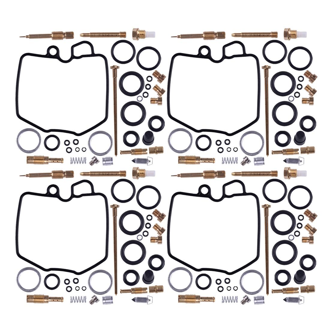CITALL 4 комплекта карбюратор для мотоциклов Carb комплект для ремонта и восстановления Подходит для Honda CBX 1000 и CBX 1000 Pro Link 1981, 1982, 2003