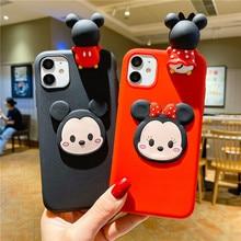 3D Cartoon Case for iPhone 11 12 Pro Max 12 Mini Cases IPhone XR XS X 7 8 6 Plus