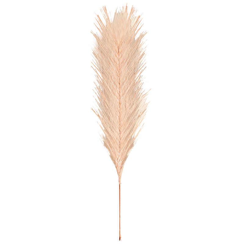 10 piezas 20cm PE hierba peluda flores artificiales hierba falsa para Boda nupcial manos sujetando flores hogar jardín decoración flor