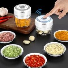Electric Garlic Grinder Masher-Cutter Shredder Chili Kitchen-Tools Vegetable Fresh USB