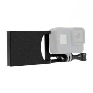 Image 2 - Bgning Aluminium Handheld Gimbal Adapter Schakelaar Mount Plaat Voor Dji Moza Stabilisatoren Voor Gopro Max 8 7 6 5 actie Camera