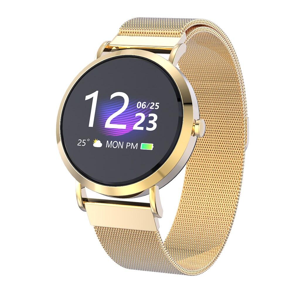 Pulsera inteligente CV08C reloj inteligente pulsera deportes Fitness presión arterial ritmo cardíaco llamada recordatorio de mensaje banda de podómetro Android
