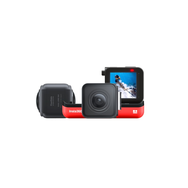 Insta360 ONE R 5.7K Panorama 4K Wide Angle Waterproof FlowState Stabilization Action Camera 5G insta 360 For Video Twin Edition 3