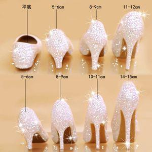 Image 5 - สตรีรองเท้าแต่งงานส้นสูงปั๊มBling Shiningรองเท้าสุภาพสตรีรองเท้าชุดใหม่มาถึงแฟชั่นรองเท้า