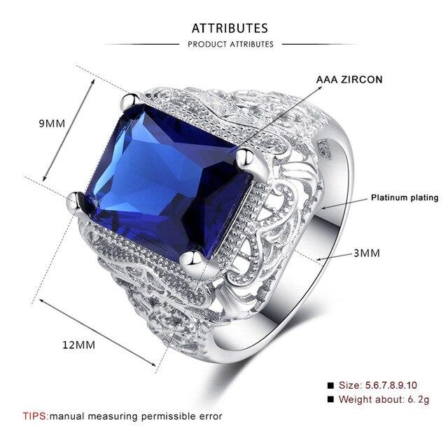 женское винтажное кольцо из серебра 2019 пробы с синим цирконом фотография