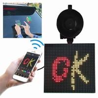 Pantalla de visualización LED, luces de imagen de expresión, control de aplicación Bluetooth, imágenes integradas, animaciones para iOS Android #90