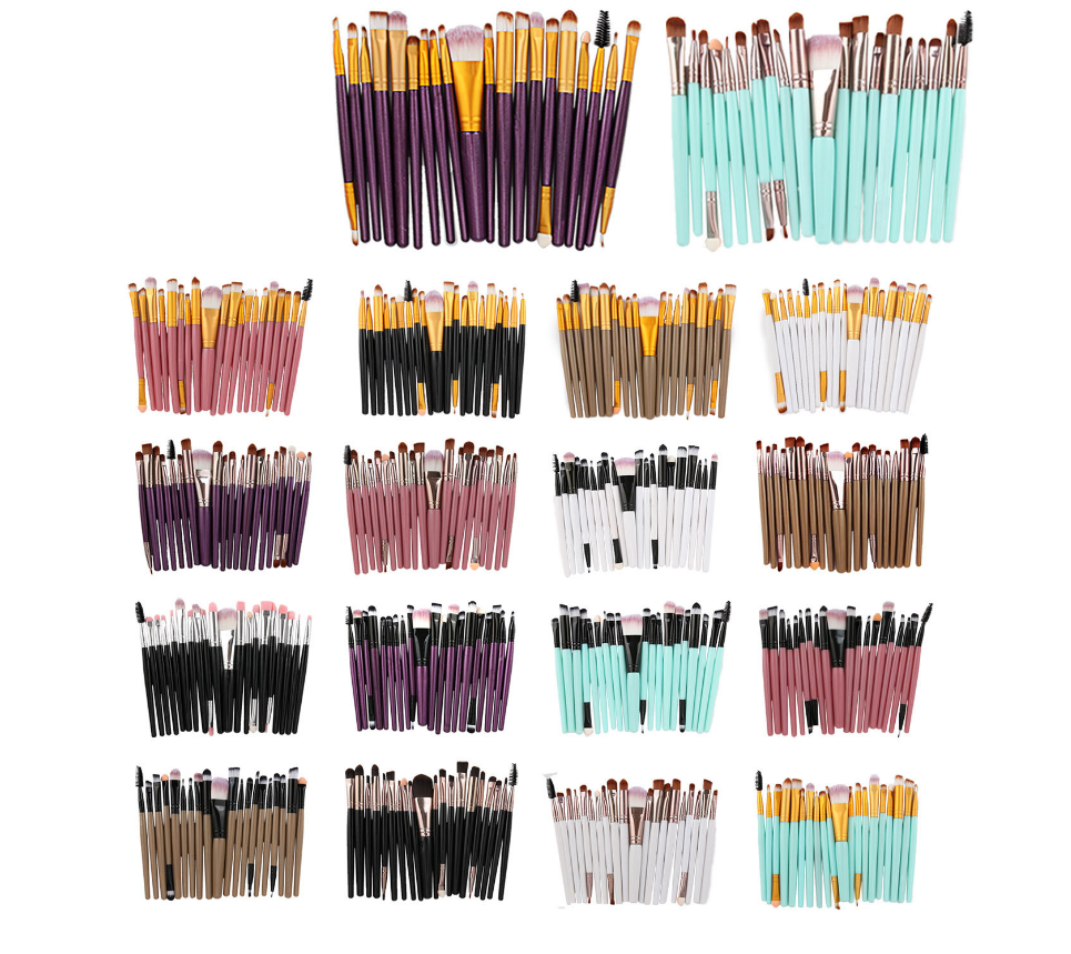 Hot Selling  For 20 Suits Of High Quality Cosmetic Brushes Best Price
