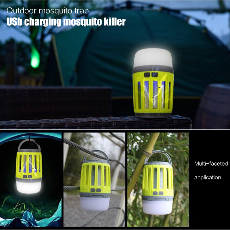 Mosquito Lamp USB Voiceless Pest Bug Delicate Light Mosquito Light Fashion Electric LED Insect Trap Moths Killer Creative