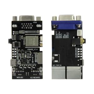 Image 1 - LILYGO®وحدة تحكم TTGO VGA32 V1.4 وحدة تحكم PS/2 محرك ألعاب لمكتبة الرسومات ولوحة المفاتيح ومطرفية ANSI/VT لـ ESP32