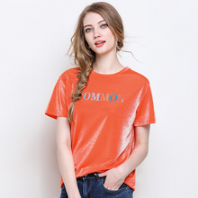Plus size summer T shirt women 2019 new fashion letter printed T-shirt loose tops large size o-neck 5XL maxi tees female casual звуковая карта creative sound blaster x g6 usb 3 0 retail 70sb177000000