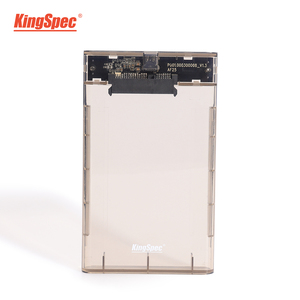 KingSpec 6Gbps SATA ssd enclosure USB 3.0 7mm 5Gbps SSD Hard Drive Box External 9.5mm Enclosure Case for 2.5 inch SATA SSD HDD