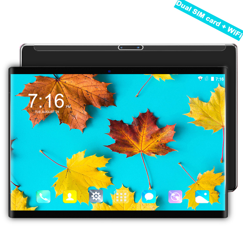 Waywalkers 4G LET Tablet PC 10.1 Inch Android 8.0 Octa Core 6GB+64GB Tempered Screen IPS Dual SIM Card Phone Call Tablets Pcs 10