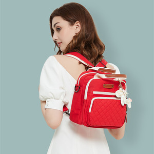 Image 3 - สูงระดับผ้าใบที่มีสีสันMommyกระเป๋าผ้าอ้อมกระเป๋าผ้าอ้อมเด็กMaternity Mommyกระเป๋าเป้สะพายหลัง/กระเป๋าถือ/Messengerสาม in Oneกระเป๋า