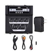 Microphone Audio-Mixer Karaoke Stereo Mini Sound-Plastic Mp3 Recording Support 1-Piece
