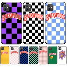 цена Backwoods Checkered Luxury Unique Design Phone Cover For iphone 4 4s 5 5s 5c se 6 6s 7 8 plus x xs xr 11 pro max онлайн в 2017 году