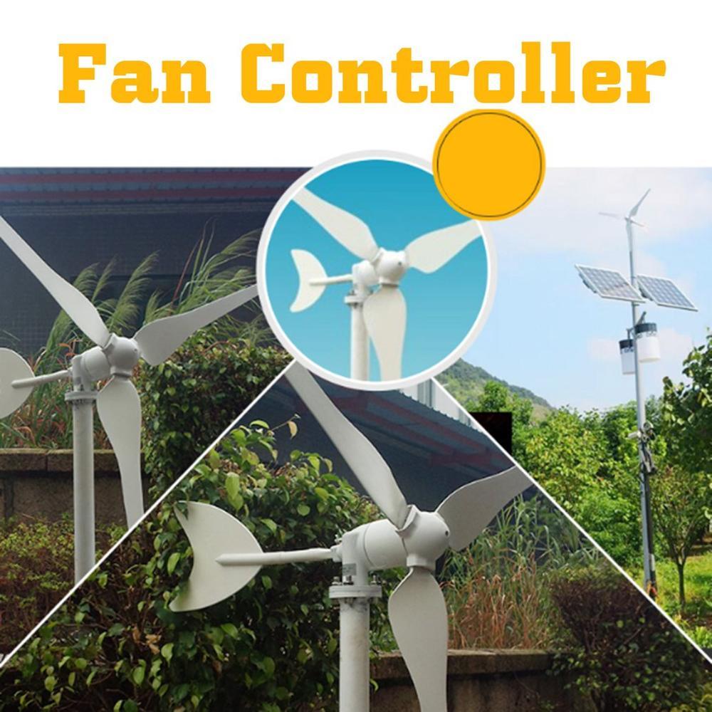 Petite éolienne maison Mini générateur Dc 100W 24V production d'énergie éolienne