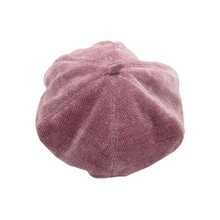 Lady Spring Winter Berets Hats Candy-Colored Painter Style Hat Women Wool Vintage Solid Color Caps Female Bonnet Warm